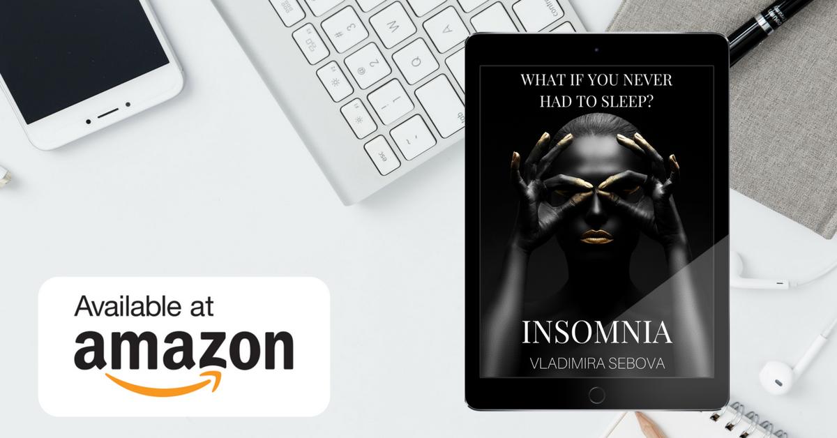 Insomnia je dostupná v angličtine na Amazone, iBooks Store a Smashwords :-)
